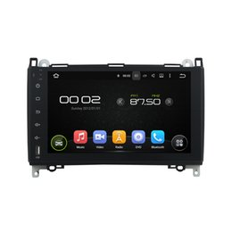 Wholesale Mp3 Mercedes - Deckless 1024X600 screenAndroid 5.1.1 Fit Mercedes Benz Sprinter A class B200 Vito Viano W169 W245 W469 W906 car DVD GPS Radio DVR player
