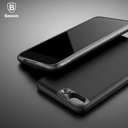 Wholesale Baseus Iphone Case - Baseus Ultra-Thin Power Bank Battery Backup Case Charger Cover For iPhone 7 Plus 5.5inch For iphone 7 4.7inch