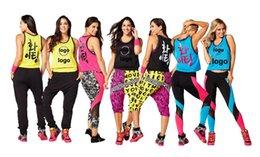 Wholesale Pink Racerback Tank Top - woman dance vest Lets Win This Jersey Crop Top tank racerback blue black pink yellow