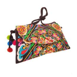 Wholesale handmade fabric handbags - Hmong Clutch Bag Hill Tribe Handmade Bag Thai Handbag Ethnic Crossbody Bags Cheap handbags women bags