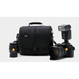 Wholesale Photo Dslr - ITSYH Digital SLR S2 camera bag professional DSLR handbag photo shoulder case bag with all weather cover TW-383