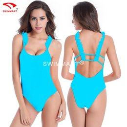 Wholesale Ladies Swimsuits Back - The United States back high hip body ladies swimsuit the latest popular new swimsuit in Europe and America