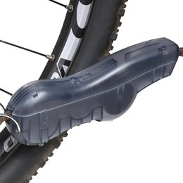 Wholesale Cycle Cleaning Brushes - New Design Hanging Bicycle Chain Cleaner Cycling Bike Machine Brushes Cycling Protector Mountain Bike Chain Tool bike Accessories