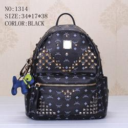 Wholesale Designer Brand Purse Black - 2016 New Style High Quality Brand Bag Famous Designer Rivet School Students Backpack Mochilas Travel Bags Handbag Day Clutch Purse Booklbag