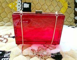 Wholesale Grey Evening Purse - Wholesale- 2015 Women Day Clutch Purse Ladies Evening Mini Handbag Bridal Wedding Acrylic Bag Dinner Party Purses bolsos mujer XA1013B