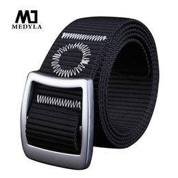 Wholesale Mens Military Canvas Belts - 2017 Pin Buckle Nylon Belt Male Army Tactical Belt Mens Military Waist Canvas Belts Cummerbunds High Quality Strap Waistband