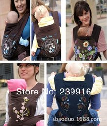 Wholesale Minizone Baby Carrier - Retail MEI TAI 3 in 1 Baby Carrier Carry Baby Carrier Sling Rider Coffee Minizone carrier