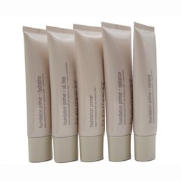 Wholesale Mineral Base Oil - SAMPLE 2PCS Laura Mercier Foundation Primer Hydrating  Mineral  Oil Free Base 50mL High Quality Face Makeup 6 Styles SPF 30 Base 50ml Face
