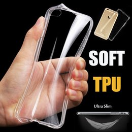 Wholesale Cover Galaxy Note Silicone - Ultra Slim Clear TPU Case Transparent Crystal Soft Gel Protective Cover For iPhone X 8 7 plus 6 6s Samsung Galaxy S8 S7 edge Note 8