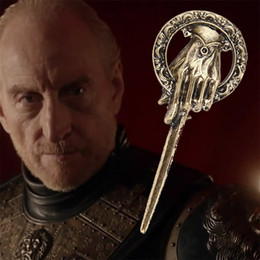 Wholesale Icing Pin - 2015 New Arrival Hot Selling Song of Ice and Fire Game of Thrones Hand Of The King Pin,Brooch