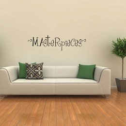 Wholesale Kids Room Wall Art Quotes - New Product For Masterpieces Kids Wall Decal Removable Stickers Hunting Quote Vinyl Art Bedroom Sitting Room Diy