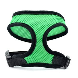 Wholesale Ring Vest - 2017 NEW Quick-release buckle Mesh pet Dog strap Puppy Comfort Harness Sports Dog Harness D-ring Dog Harness Vest with Hand Strap