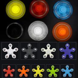 Wholesale Fidget Plush - Fidget Spinner Plush Toy Plastic Hand Spinner Fidget Fingertips Spiral Triangle Hand Spinner EDC fidget Rollver Retail Pack
