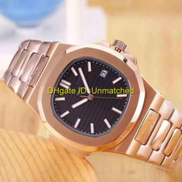 Wholesale Roses Calendars - Top luxury watch high quality automatic rose gold stainless steel nautilus sports business brand mens watches wristwatch