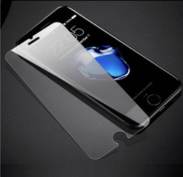 Wholesale Hd Anti Glare Screen Protector - For Iphone 8 X 7 7 Plus 6 6 Plus 6S 6S Plus Tempered Glass Screen Protector Film HD Game Glossy