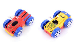 Wholesale Inertia Toy Car - Double-sided tipper Car Toy Clockwork toys baby toys wholesale car stall chain small toy cars Climbing