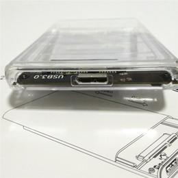 2019 игрок sata USB 3.0 Прозрачный 2,5-дюймовый жесткий диск Корпус Внешний футляр для жесткого диска без инструментов