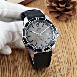 Wholesale Luxury Men Sport Mechanical Leather - noob hot mens leather BELT sport watch automatic mechanical fashion new men watch stainless steel luxury wristwatch men's Watches