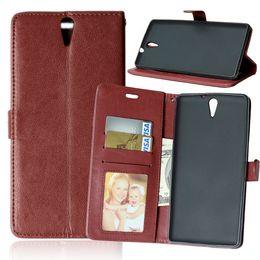 Wholesale Leather Case Xperia C - Case for SONY C5 Xperia C 5 Ultra LTE E5533 E5506 E5563 Phone Leather Cover Flip Case for Xperia C5Ultra E 5533 5506 5563 5553