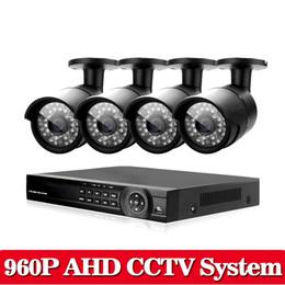 Systèmes de caméras de sécurité dvr sans fil en Ligne-8CH AHD HDMI 1080P DVR HD Vision nocturne 1.3MP IR CUT Sécurité Intérieur Extérieur Extérieur CCTV 960P Système de caméras Kit Vidéo sans fil