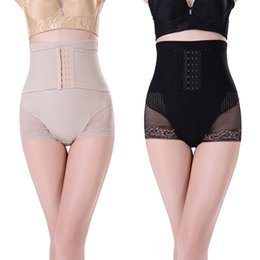 Wholesale High Waist Pants Cheap - Wholesale- Cheap&High Quality! Womens Shapewear Body Shaper High Waist Tummy Control Slimming Brief Shorts Pant