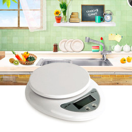 Wholesale Food Diet Scales - 5kg 5000g 1g Digital Kitchen Food Diet Postal Scale Electronic Weight Bench Scales Balance Weighting LED Electronic WH-B05