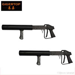 Wholesale Pistol Prices - By fedex 2pcs lot Cheap Price Handhold Co2 Gun DJ Light,3 Meter Hose Hi-Quality Gun Pistol CO2 Stage Light Without Power Stage CO2 dj cannon