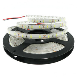 Wholesale Wire Ribbon Led Lights - led ribbon High power 100W Super Bright 5M 300 Led 5630 SMD cool White warm white pure white Flexible LED Strip Light Waterproof IP65 12V