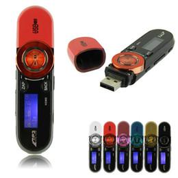 flash player mp3 Desconto Venda por atacado - Levert DropshipDel USB LCD Screen16GB Suporte Flash TF Player MP3 Música Rádio FM Oct 06