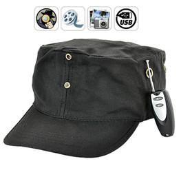 Wholesale Mini Spy Wireless - 4GB Wireless Spy Hat Mini Hidden Cam With Remote Contral Protable Recorder