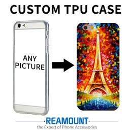 Wholesale Wallet Phone Cases - 50pcs Custom Design DIY Logo Photo Hard Phone Case For iPhone 4 4S 5 5S SE 6 6S 7 Plus Customized Printed Back Cover