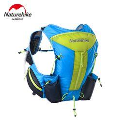 Vente en gros- Naturehike 12L léger sac de course 3 couleurs nylon sacs à bandoulière hommes femmes vélo randonnée camping marathon voyage sac à dos ? partir de fabricateur
