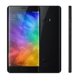 Wholesale Android Cell Phone Tri - Original Xiaomi Mi Note 2 Prime Mobile Phone 6GB RAM 128GB ROM Snapdragon 821 Quad Core 5.7 inch 3D Glass 22.56MP Fingerprint NFC Cell Phone