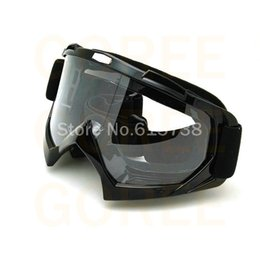 Wholesale Motorcycle Goggles Black - COOL BLACK glasses goggle cycling goggles color Motorcycle motocross goggles Motorcycle ATV BMX goggles