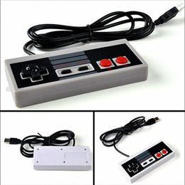 Interfaz de cable online-Interfaz USB con cable Controlador para PC Juego de computadora Famicom Gamepad no para NES FC clásico