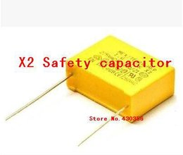 Wholesale Automotive Safety - Wholesale-10PCS X2 Safety capacitor 275VAC 474K 0.47uf 15mm Free shipping