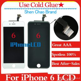 Wholesale Iphone Screens Sale - Grade A+++(100% Spotless) shenchao LCD Assembly With Frame brand new For iPhone 6 100% Without Dead Pixel Satisfactory after sales services