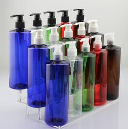 Wholesale Empty Plastic Bottles Shampoo - 500ml Lotion Bottle Pump Large Size for Shower Gel Shampoo Plastic Empty Bottle