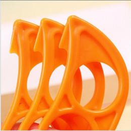 orangenschneider Rabatt Mode niedliche Maus Form Zitronen Orange Citrus Opener Peeler Remover Slicer Cutter schnell Strippen Küche Werkzeug Obst Haut Entferner Messer