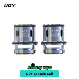 Wholesale Tanks For E Cigs - Original ijoy Captain Coil CA2 0.3ohm & CA8 0.15ohm Replacement Coil Head E cigs Accessories for Captain Sub Ohm Tank