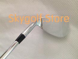 Wholesale Custom Wedge - New TVD M C-C Golf Wedges 52 56 60degree With Steel Shafts Custom Golf Sand Wedge Set Clubs DHL Ship