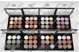 Wholesale Pro Chocolate - Burgundy Eye Shadow X 9 Times Nine Matte Satin Eyes Pro Color 9 Compact Makeup Eyeshadow Palette