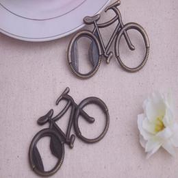 lembrança de bicicleta Desconto Novo Abridor de Garrafa de Metal Em Forma de Bicicleta Em Forma de Bicicleta abridores de vinho Favor Do Casamento Presente Do Partido Da Lembrança Presente Abridores IC565