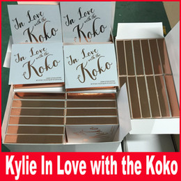 Wholesale Free Lips - New kylie in love with Koko Kollection Matte Liquid Lipsticks Lip Gloss Kylie Jenner Collection Cosmetics Set free shipping