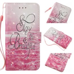 Wholesale Diamond Crystal Case For Lg - 3D Diamond Wallet Flip Leather Bling Case for iPhone 6 7 plus Samsung S7 S8 LG K7 Bling Glitter Crystal Painting Drawing Windbell
