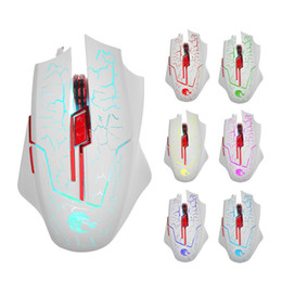 Wholesale Mouse Optical Gamer - H800 Gaming Mouse 6 Buttons LED Optical USB Wired Mice for Gamer Computer PC Laptop High Quality