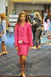 pageant interview dresses for girls Promo Codes - 2019 Little Girls Pageant Dresses National Interview Suits Custom Formal Wear For Girls Short Pageant Dresses Kids Prom Gowns Teens Two Pie
