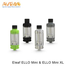 Wholesale Head Cylinders - Eleaf ELLO Mini Atomizer Ello Mini XL Tank 2ml and 5.5ml Big Capacity with HW1 Cylinder Coil Head
