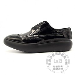 Wholesale Platform Shoes Performance - Travel Shoe Soft Leather Pure Color Full Grain Leather Plain Performance Men Platform Shoes Men Leather Shoes For Sale Runway