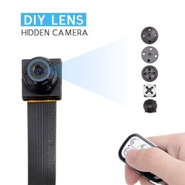 Wholesale Hd Motion Activated Spy Camera - T186 Portable Mini Spy Hidden Camera-Full HD 1080P DVR Video Recorder Motion Activated Security Camera with a remote controller
